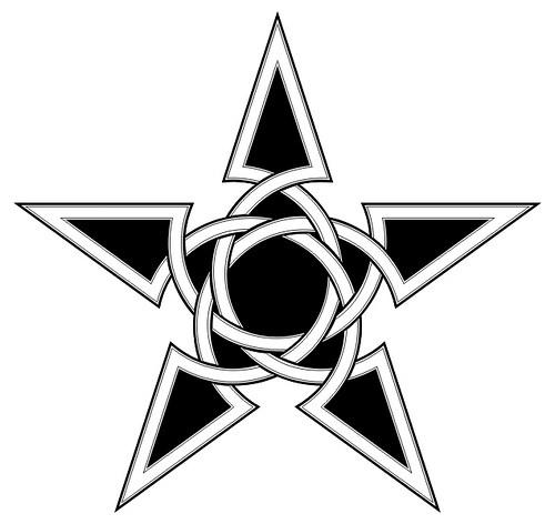 500x472 Star Tattoo Stencils
