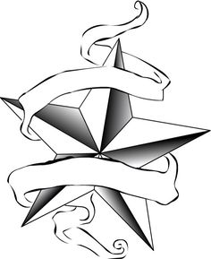 236x289 Cool Nautical Star Tattoo Design Tattoos Nautical