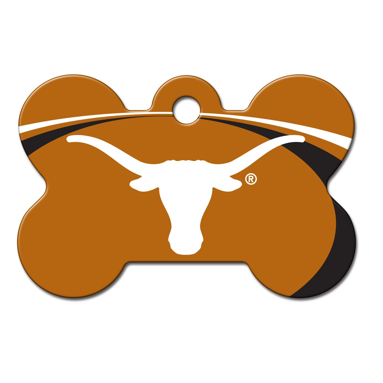 1500x1500 Dog Collar Tag Clip Art Elegant Quick Tag Texas Longhorns Ncaa