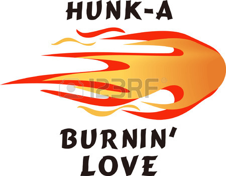 450x350 Hunk A Burnin Love. A Neat Design From Great Notions. Royalty Free