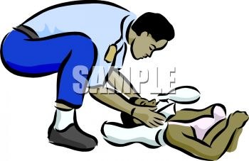 350x227 African American Emt Treating A Black Woman With A Neck Injury