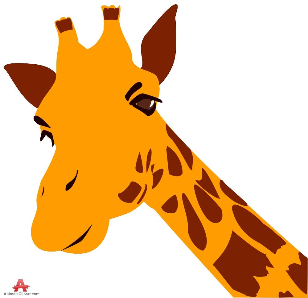 999x968 Giraffe Head Clipart Clipartfest