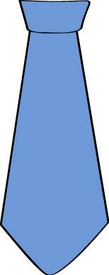 154x386 Neck Tie Clip Art