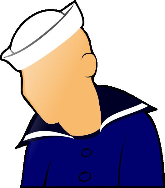 528x599 Sailor Figure Clip Art Free Vector 4vector