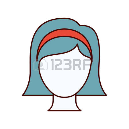 450x450 Short Hair Clipart Neck
