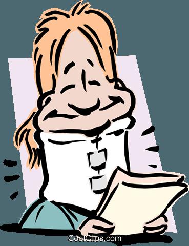 369x480 Woman In Neck Brace Royalty Free Vector Clip Art Illustration