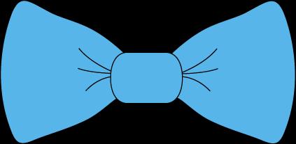423x207 Clip Art Blue Tie Clipart#2195799