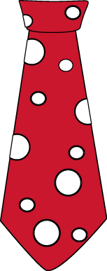 153x387 Red Clipart Neck Tie