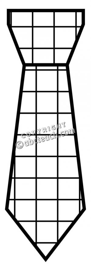 300x889 Tie Outline Clip Art (52+)