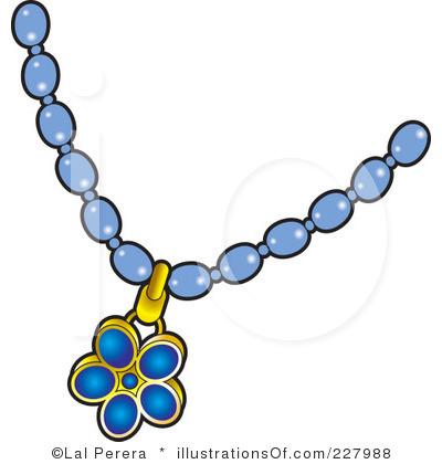 400x420 Clip Art Bead Necklace Clipart