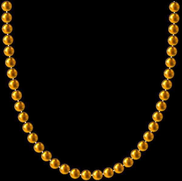 600x596 Gold Beads Png Clip Art Image Art