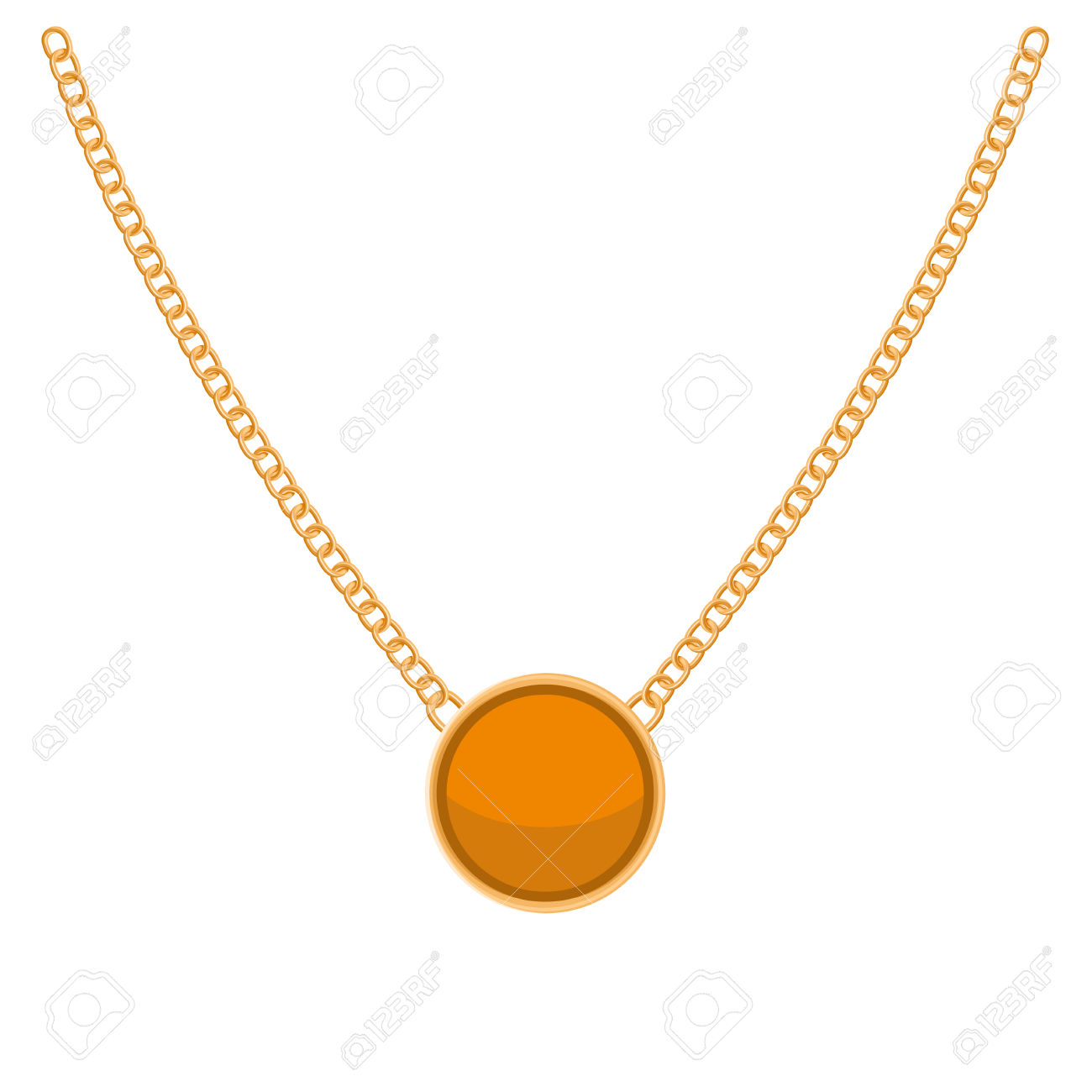1300x1300 Necklace Clipart Gold Necklace