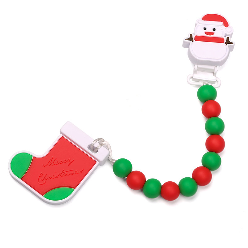 800x800 Silicone Beads Wholesale Silicone Teething Necklace Pacifier Clip