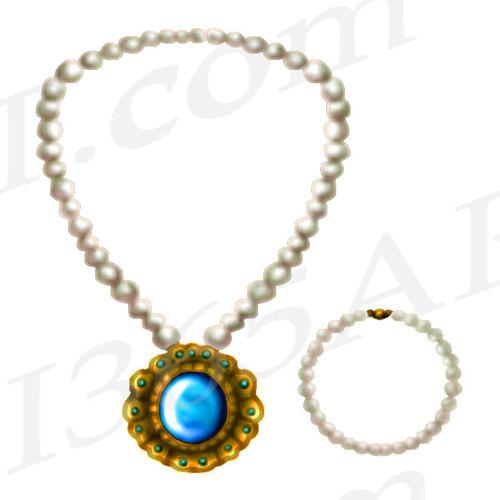 500x500 Necklace Clipart