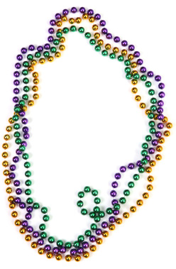 248x379 Mardi Gras Beads Clip Art