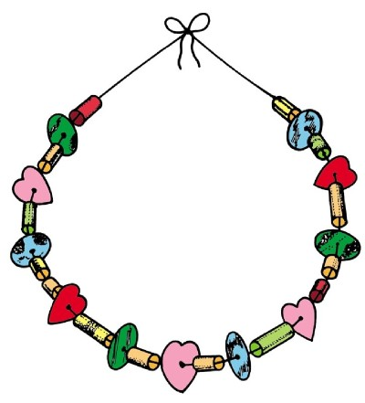 400x441 Necklace Clipart Bead Necklace