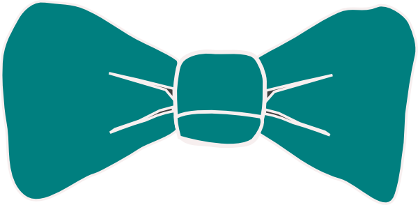 Bow tie green. Necktie clipart free download