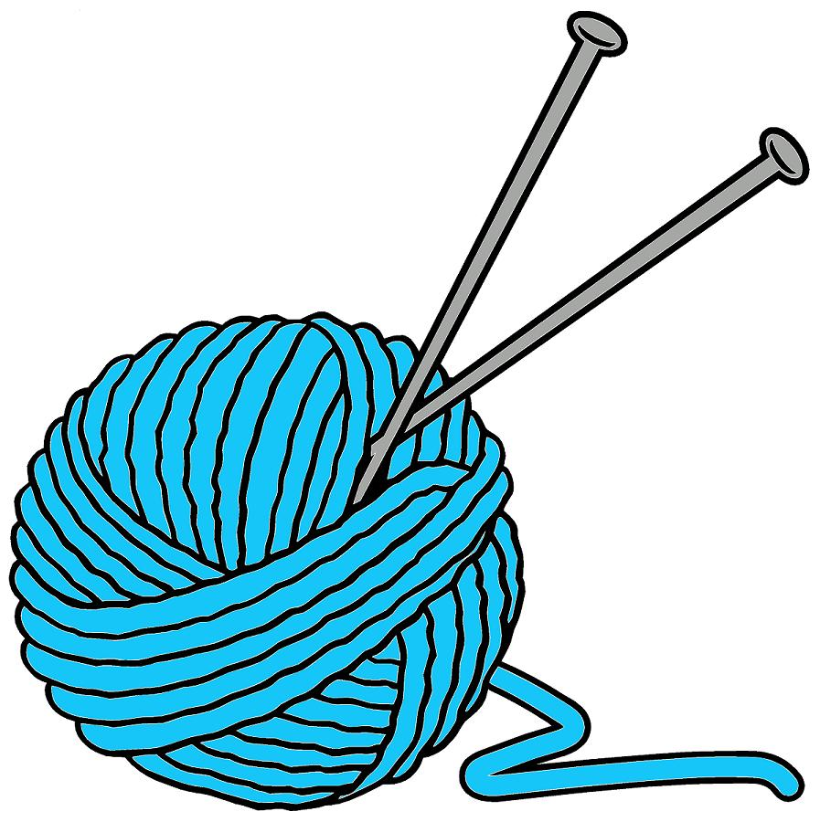 897x900 Knitting Needles And Yarn Clip Art