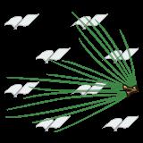 160x160 Abeka Clip Art Pine Needles