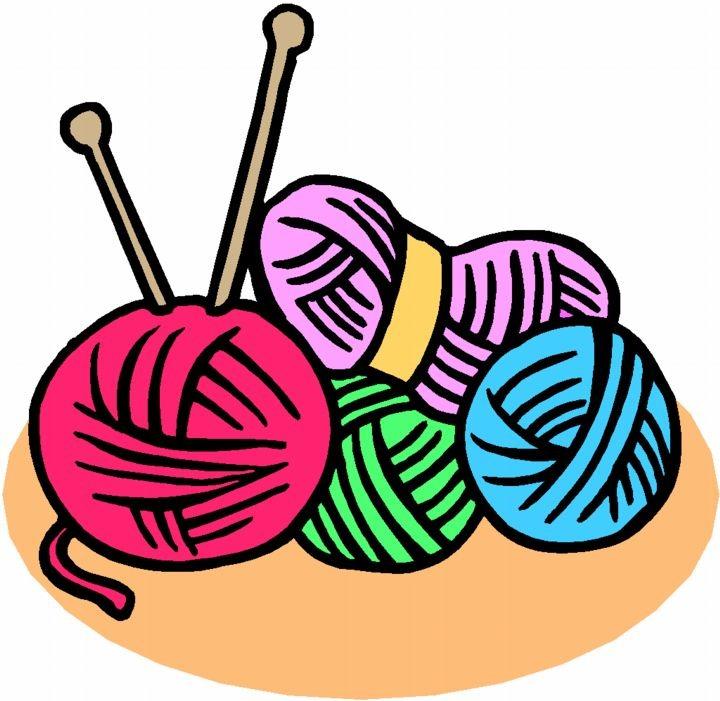 720x701 Clipart Yarn And Knitting Needles