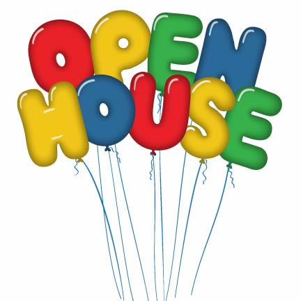 432x432 Open House Clipart