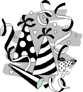 280x310 Party Clip Art To Color Clipart Panda