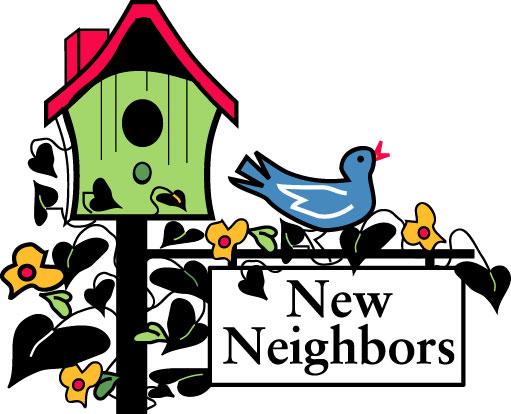 511x414 Welcome To The Neighborhood Clipart