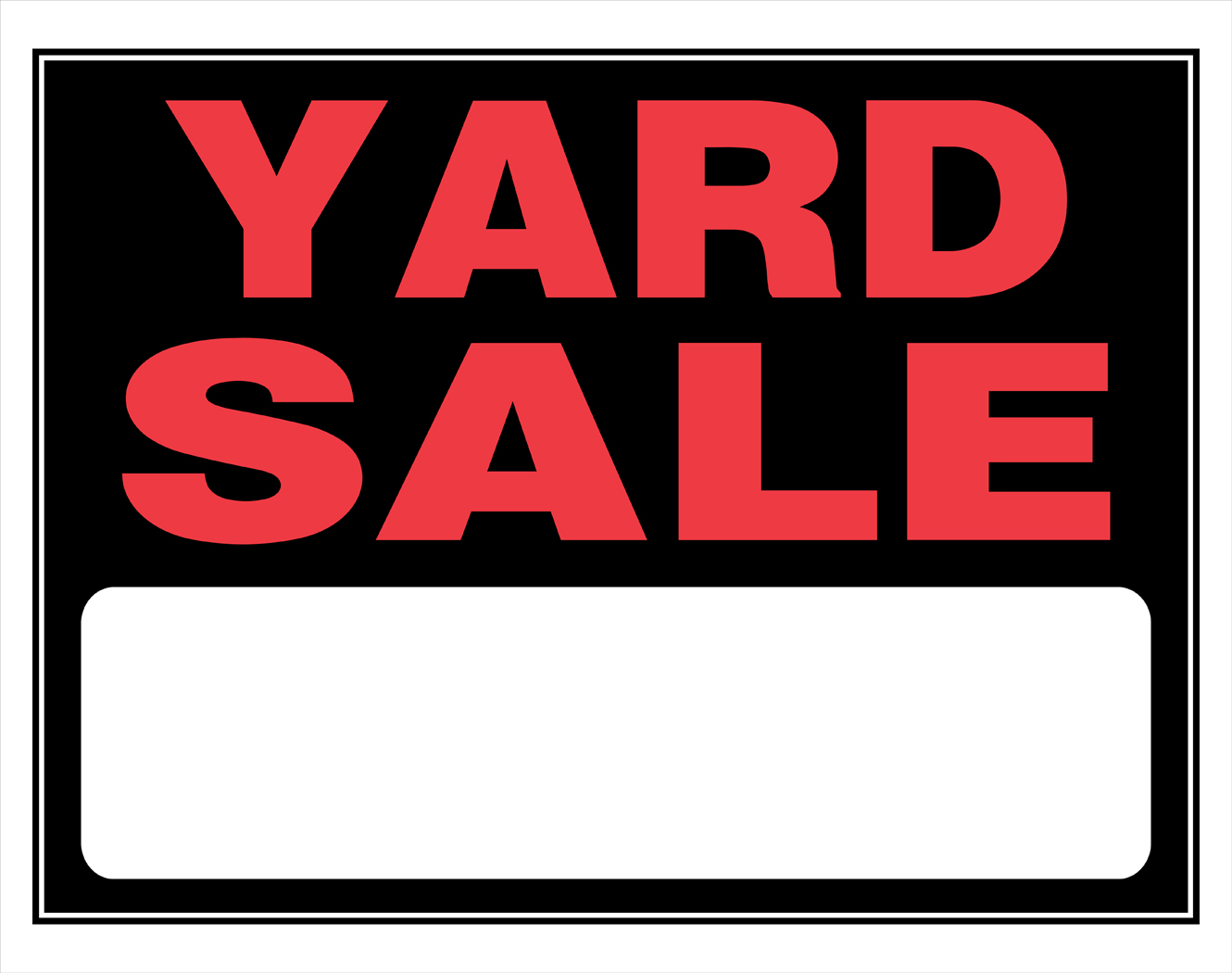 image regarding Printable Garage Sale Signs titled Local Back garden Sale Symptoms No cost down load easiest