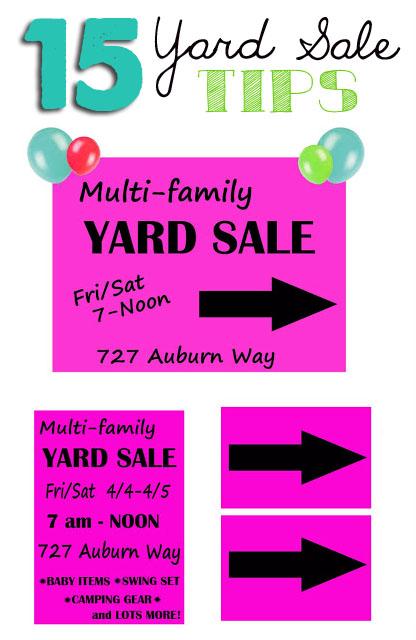 416x640 Organized Garage Sales