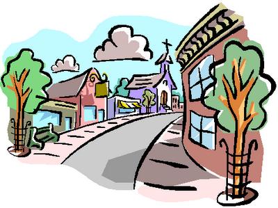 400x299 Free Neighborhood Clipart