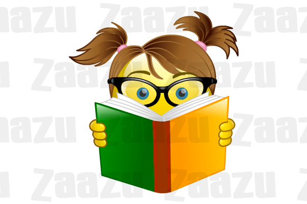 600x398 Geek Clipart Book Reading