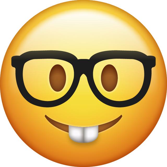 640x640 Download Nerd Emoji Icon Pawis Emoji Bday Emoji