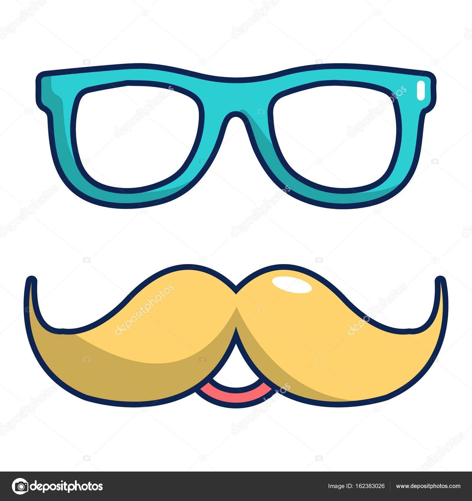 c0694e951cda3 1600x1700 Nerd Glasses And Mustaches Icon