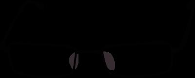 400x161 Nerd Glasses Nerdy Glasses Clip Art