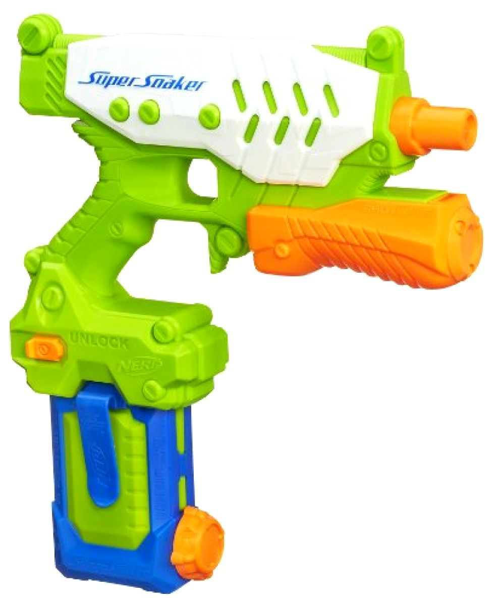 991x1200 NERF Super Soaker Shotwave Water Gun Blaster 25ft Spray eBay