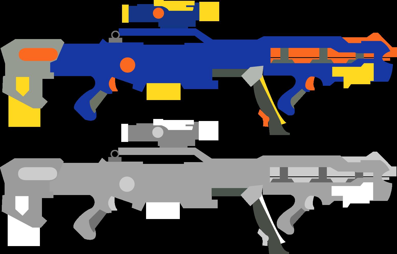 1552x995 Nerf Gun Clipart