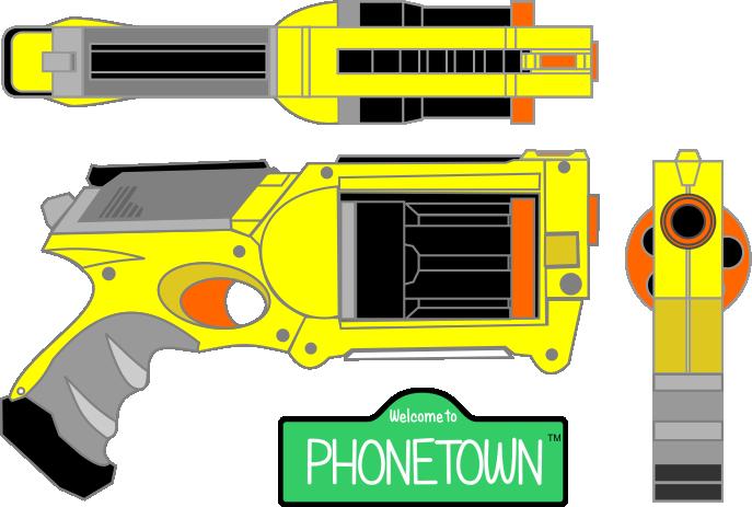 687x463 Nerf Gun Isometric by chrisharden on DeviantArt