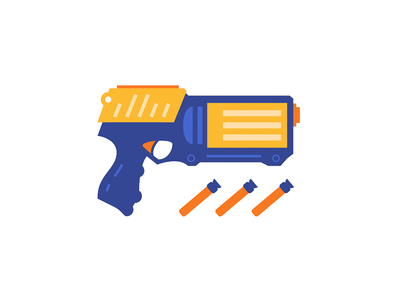 400x300 Nerf Gun by Phil Selander