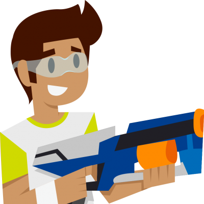 400x400 Graphics For Nerf Boys Cartoons Graphics