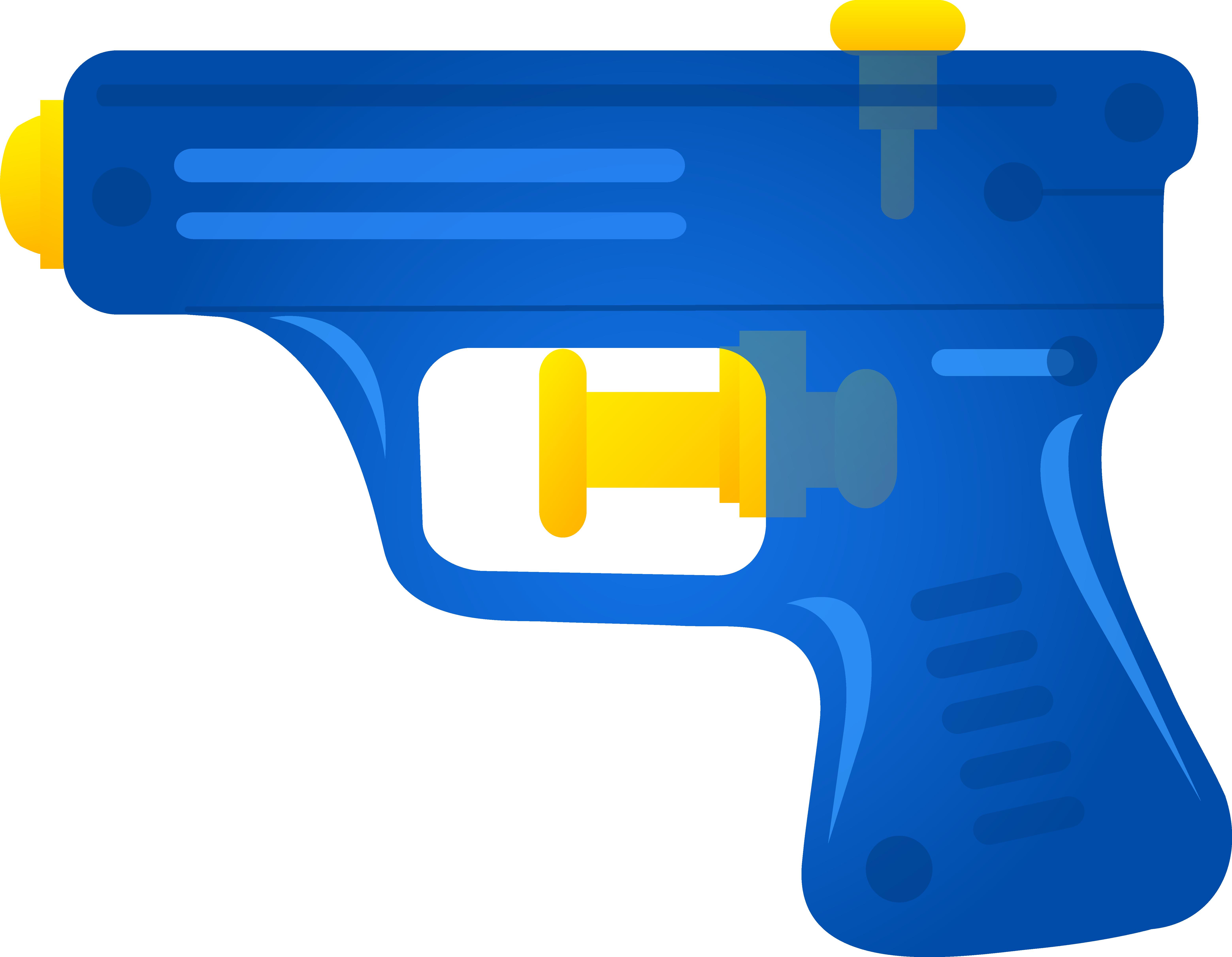 6236x4841 Gun clipart toy gun