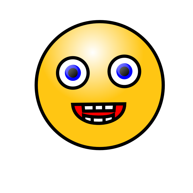 800x800 Laughing Smiley Face Emoticon Clipart Panda