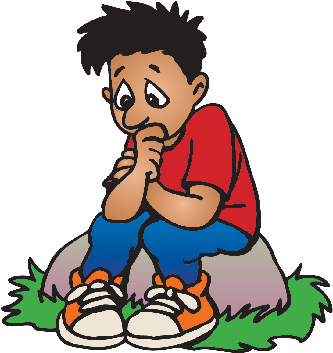 1092x1158 Nervous Boy Clipart