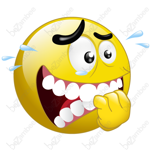 512x512 Smiley Clipart Nervous