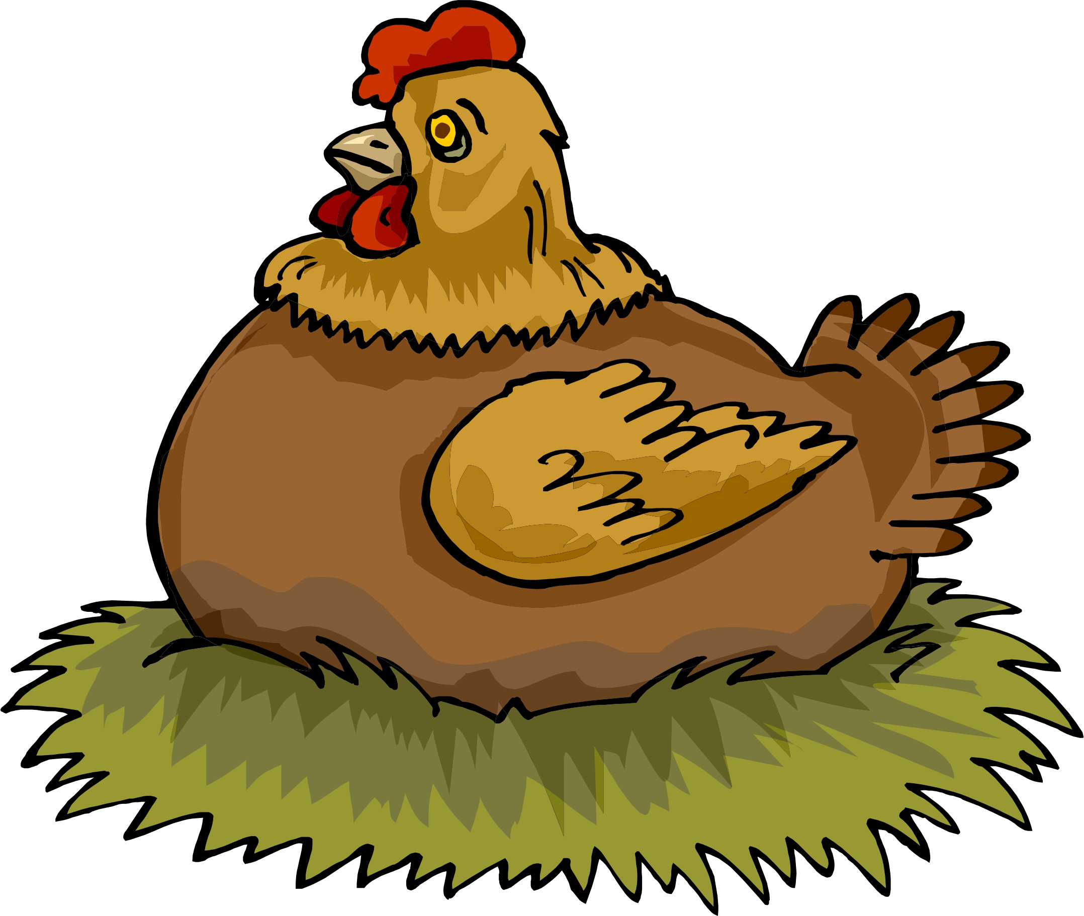 2156x1822 Nest Clipart Chicken Nest