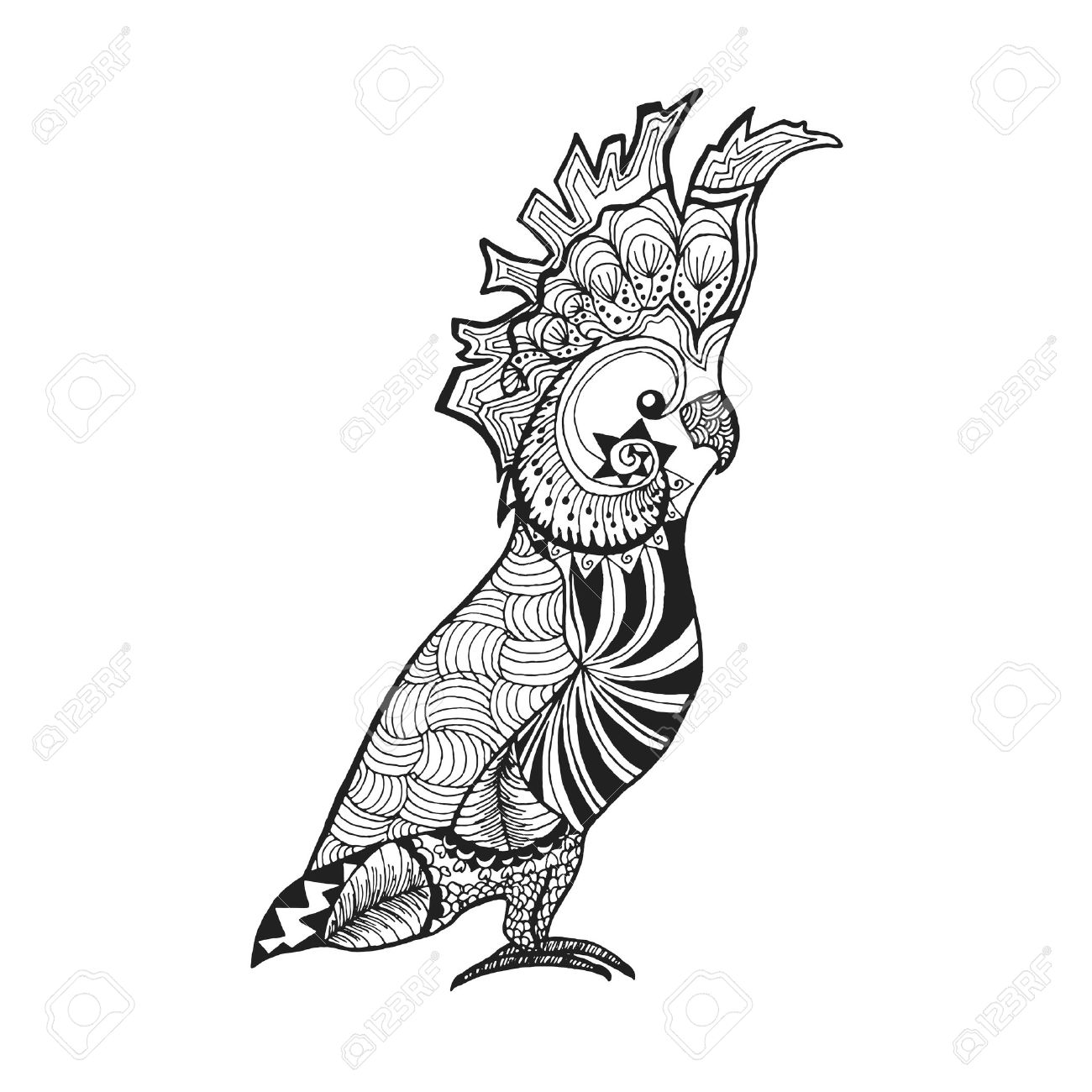 1300x1300 Bird Images Clip Art Black And White
