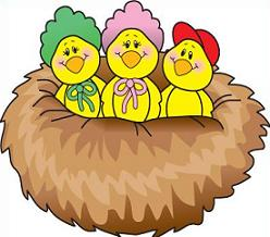 248x218 Free Bird Nest Clipart