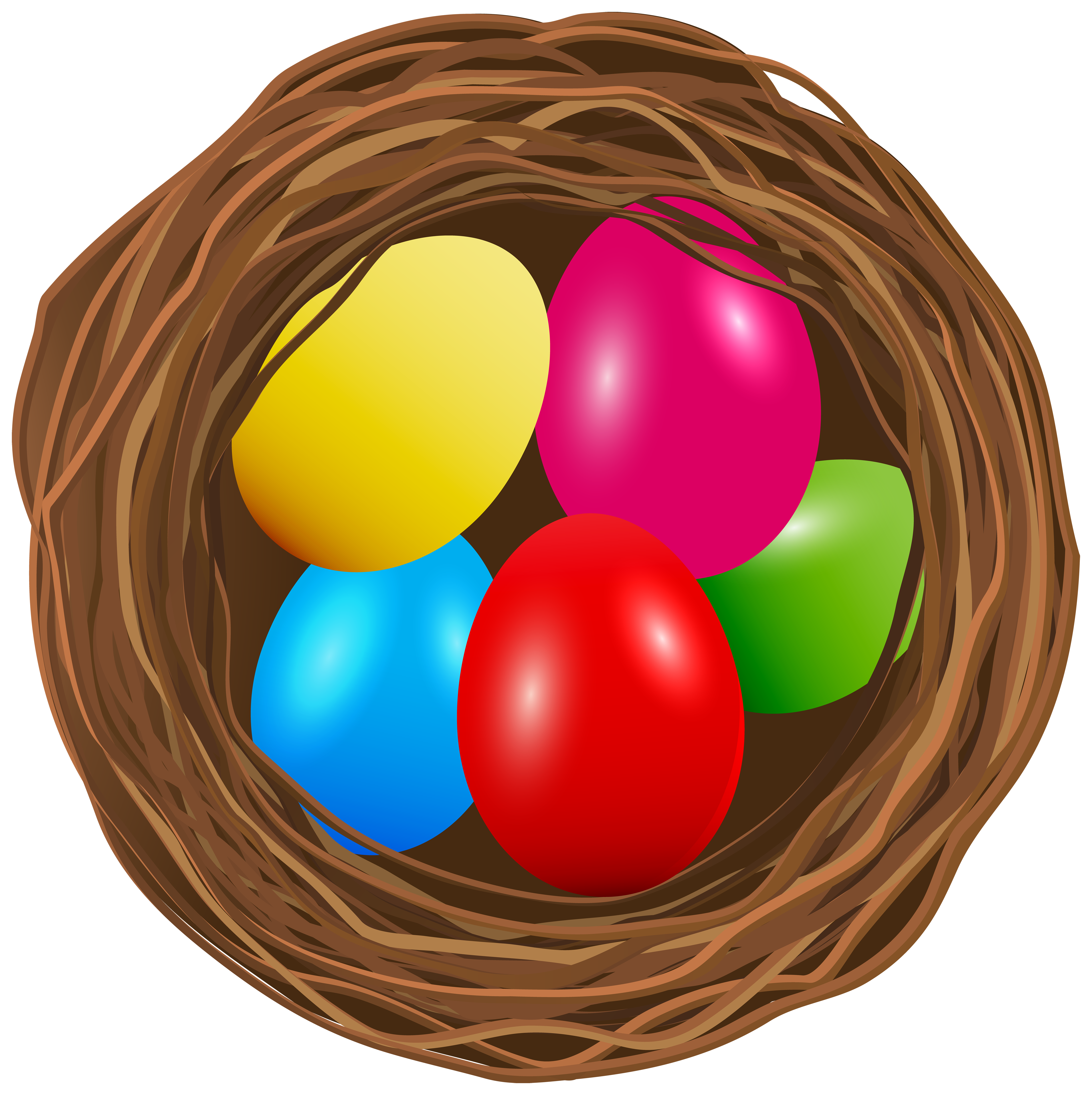 6000x6016 Easter Egg Nest Transparent Png Clip Art Imageu200b Gallery