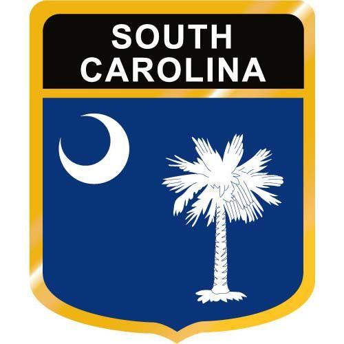 500x500 South Carolina Flag Crest Clip Art