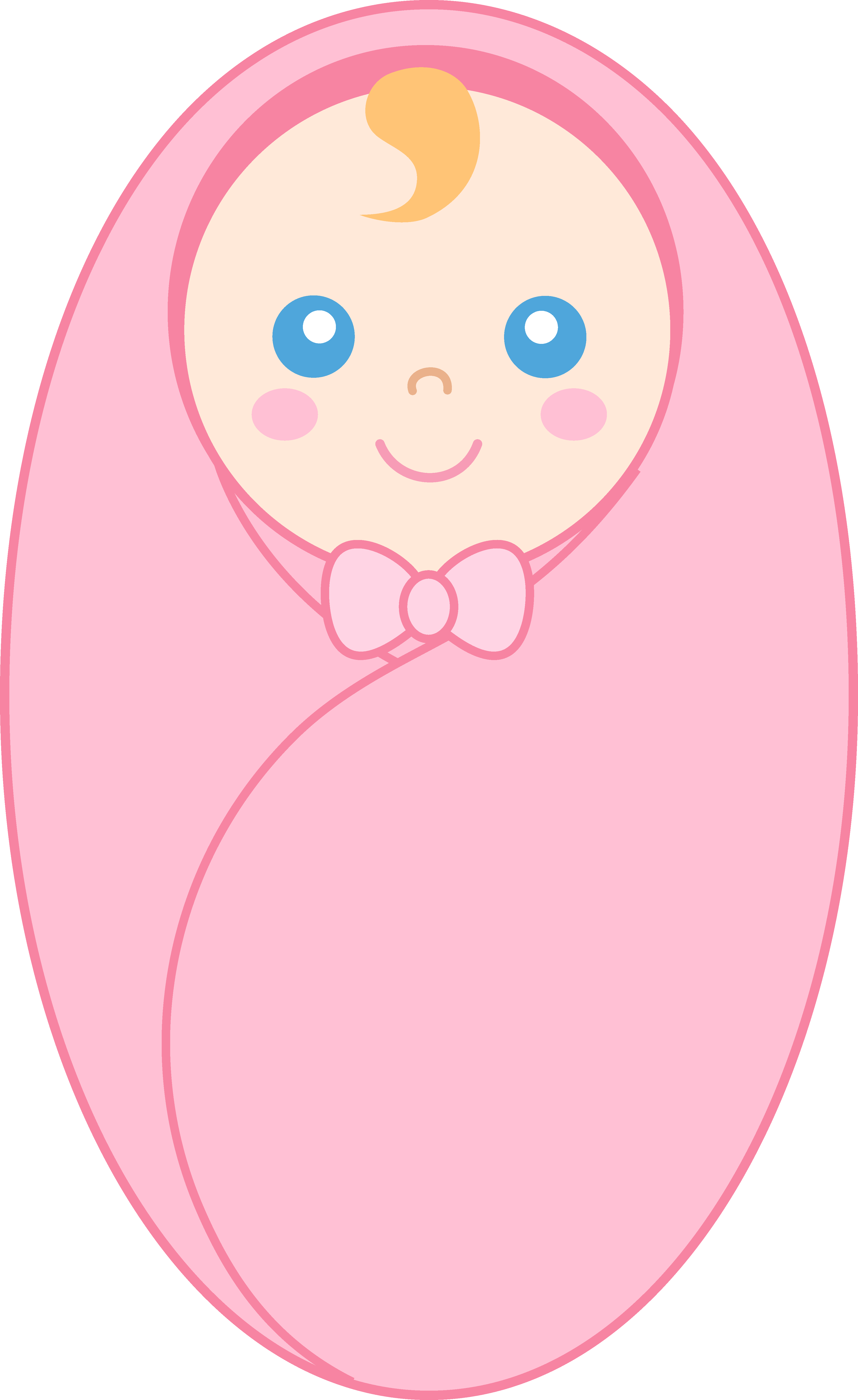 3847x6274 Baby girl baby clipart girl cute pink baby carriage free clip art