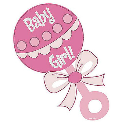 400x400 Baby girl baby shower animal clip art invitations all